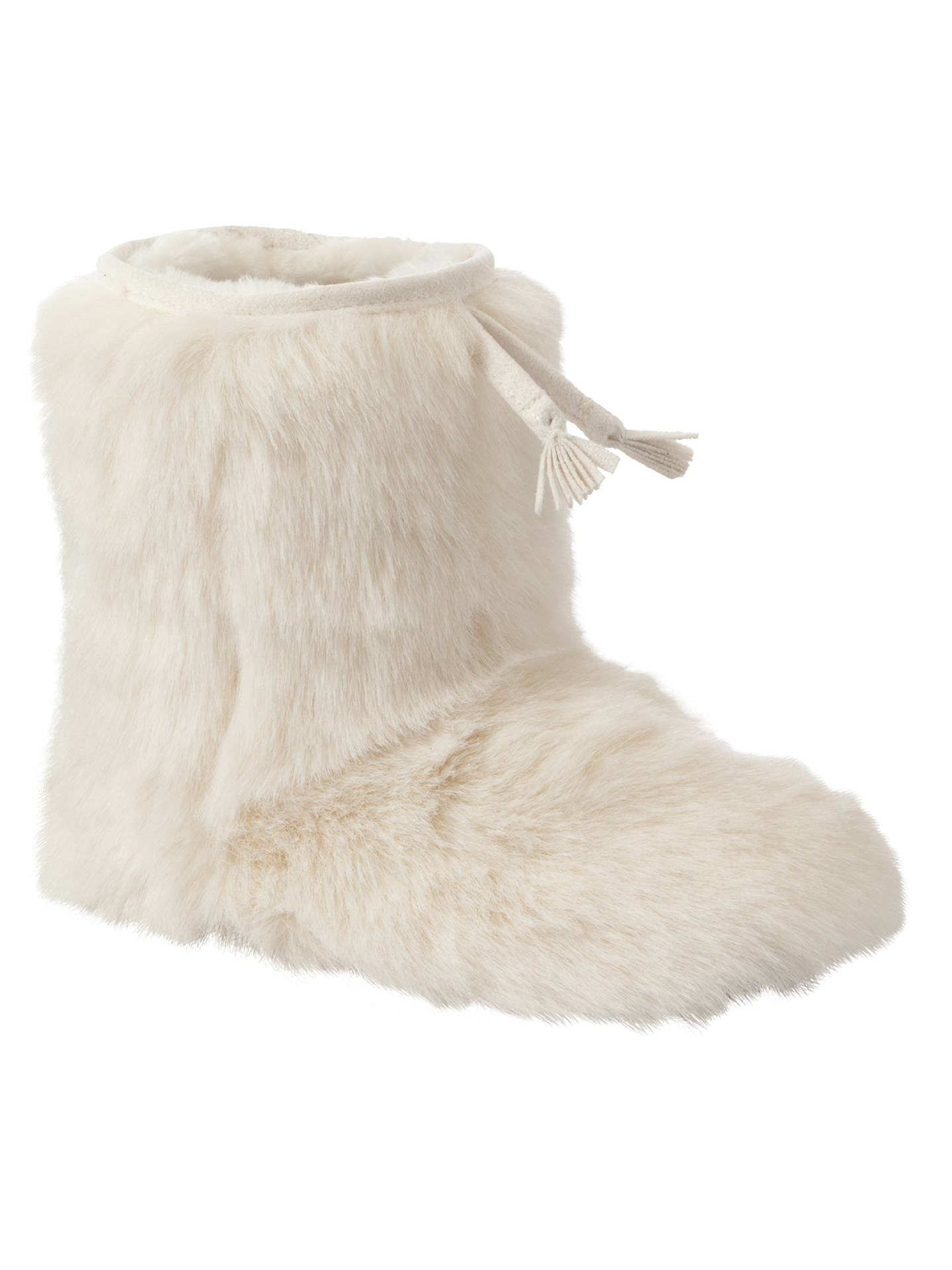 d7c00bcd3271c Buy John Lewis Girl Furry Slipper Boots