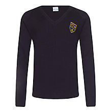 Buy St John's Priory Boys' Jumper, Navy Blue Online at johnlewis.com