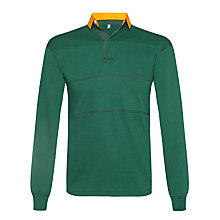 Buy Sharnbrook Upper School Boys' Rugby Jersey, Green Online at johnlewis.com
