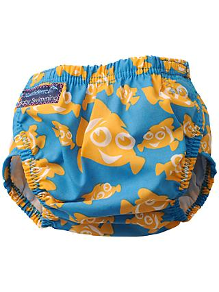 Konfidence Baby Clown Fish Aqua Swim Nappy, Blue