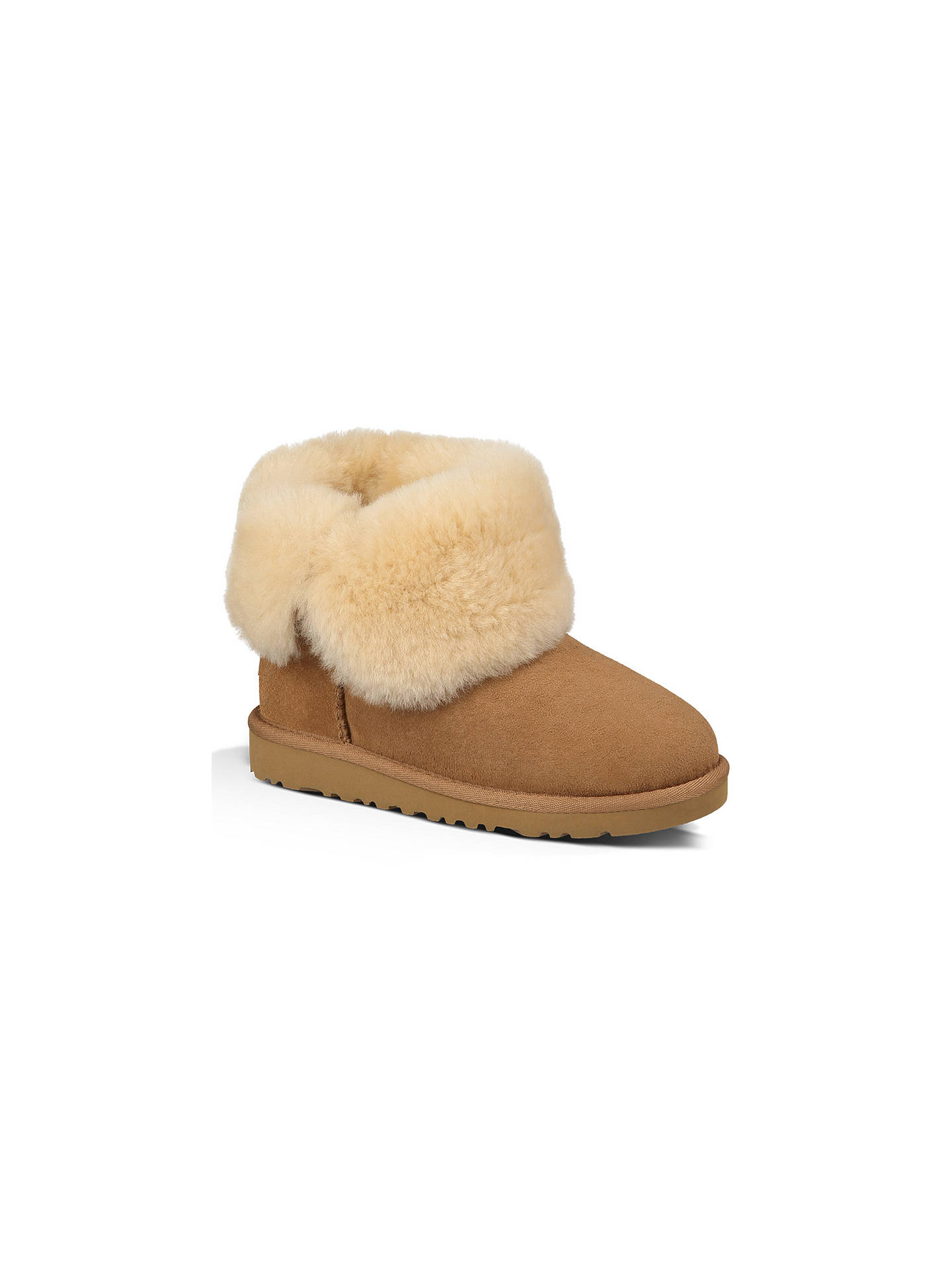 ce005a4f140b9 UGG Children's Bailey Button Boots, Chestnut at John Lewis & Partners