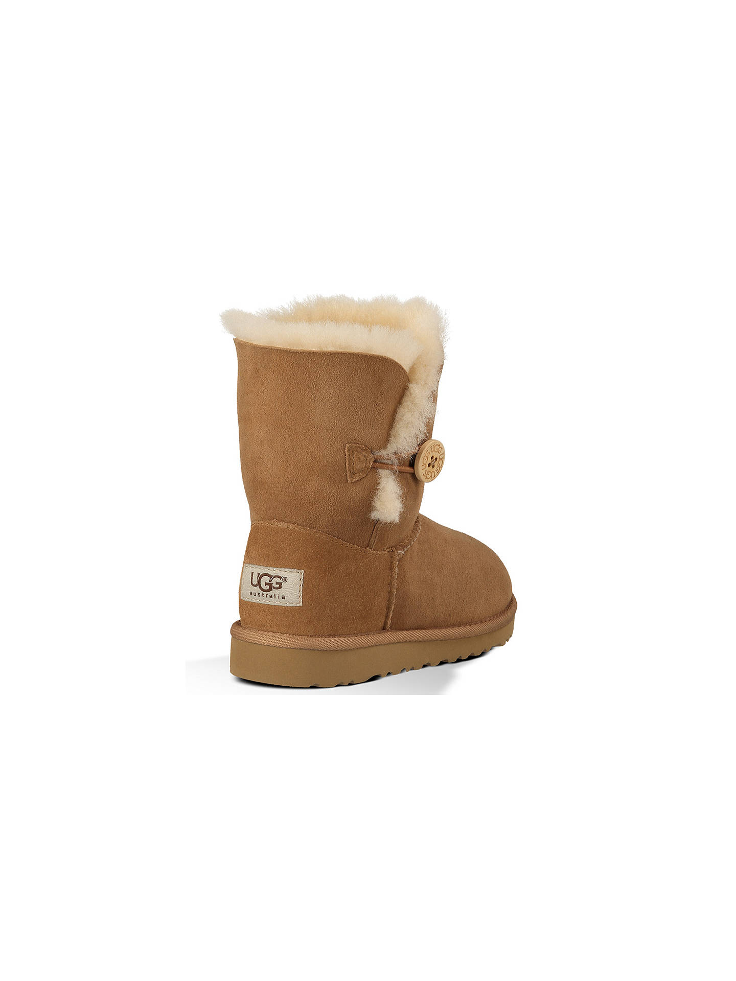 c5a56ab57 ... Buy UGG Children's Bailey Button Boots, Chestnut, 12 Jnr Online at  johnlewis. ...