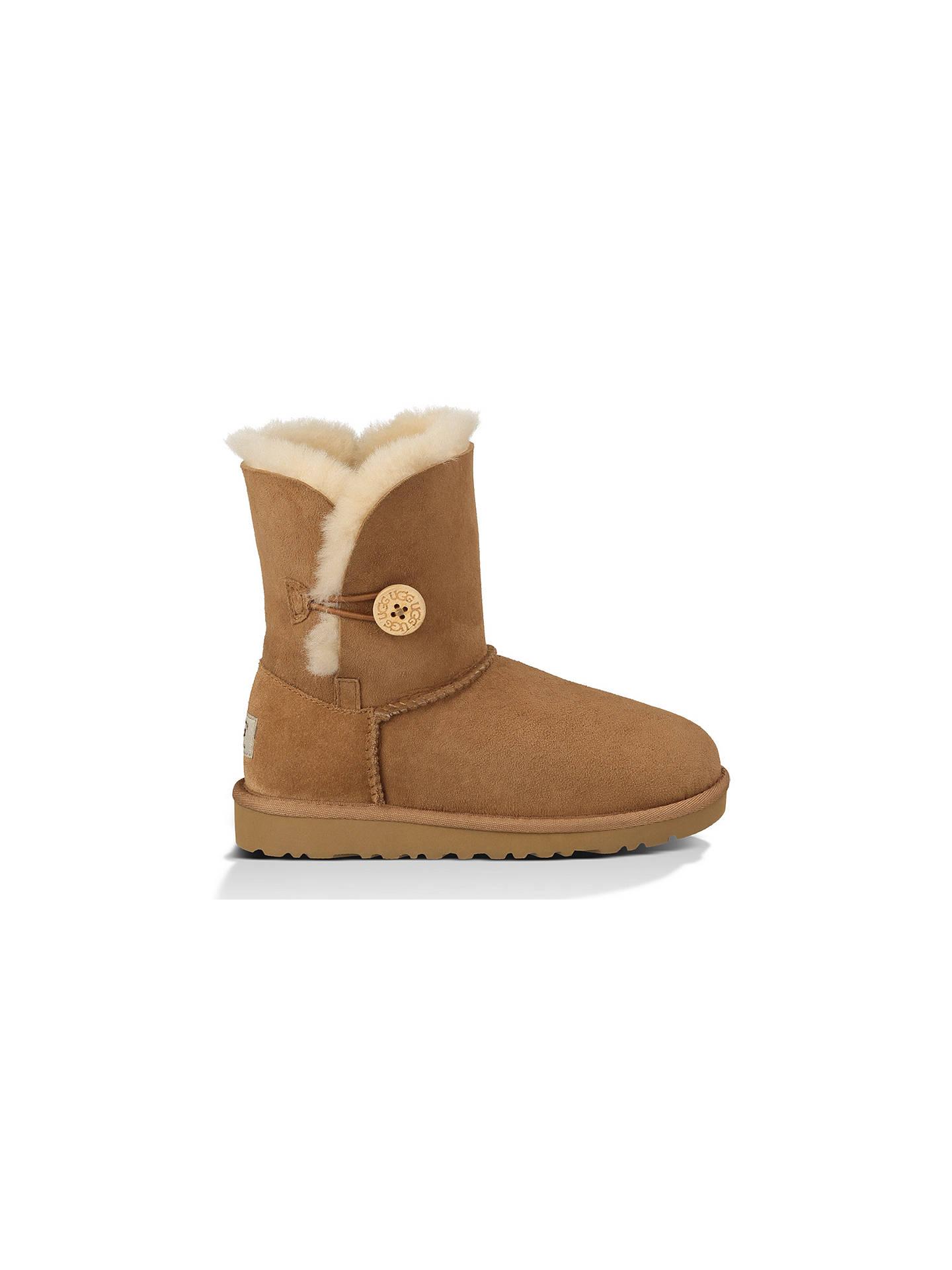 c4a6d44cf65 UGG Children's Bailey Button Boots, Chestnut at John Lewis & Partners