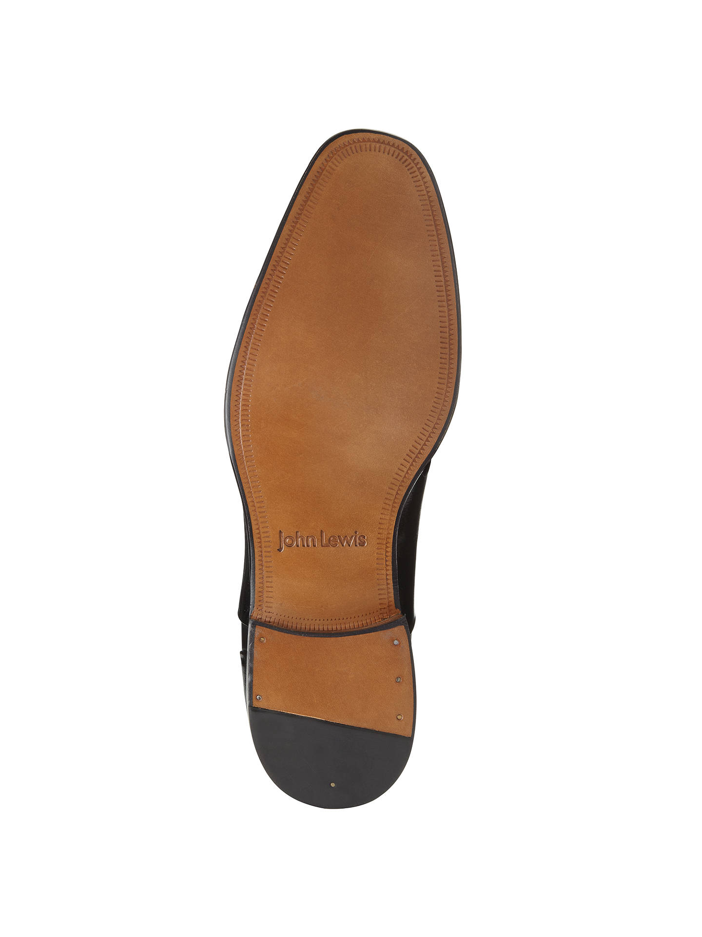 e91cdaa00f079 ... Buy John Lewis Goodwin Leather Oxford Shoes, Black, 7 Online at  johnlewis.com