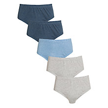 Buy John Lewis Boy Briefs, Pack of 5, Multi Online at johnlewis.com