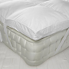 Buy John Lewis Luxury Memory Foam with Microfibre Mattress Topper Online at johnlewis.com