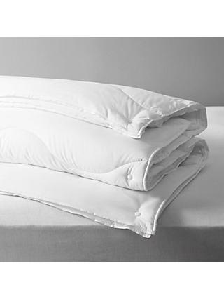 John Lewis & Partners Synthetic Soft Touch Washable 3-in-1 Duvet, 13.5 Tog (4.5 + 9 Tog)