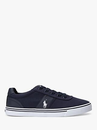 Polo Ralph Lauren Hanford Canvas Trainers, Newport Navy