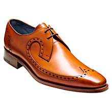 Buy Barker Woody Goodyear Welt Brogue Derby Shoes, Cedar Online at johnlewis.com