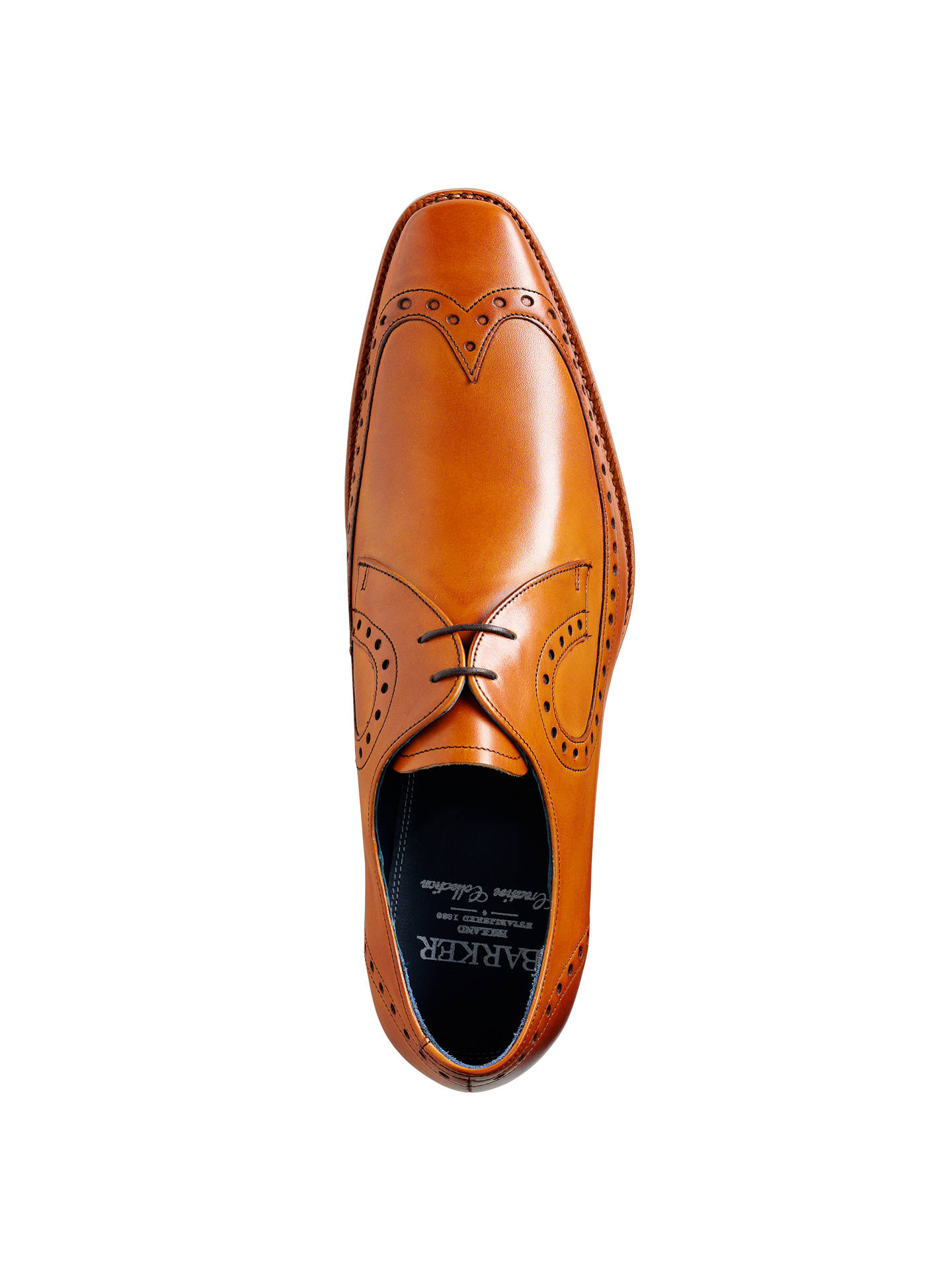 bb9fa7cd862ce Buy Barkers Woody Goodyear Welt Brogue Derby Shoes, Cedar, 7 Online at  johnlewis.