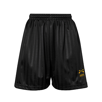 Dame Alice Owens School Sports Shorts, Black