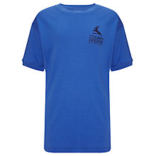 Buy Colfe's School Lynx House Unisex PE T-Shirt, Royal Blue Online at johnlewis.com