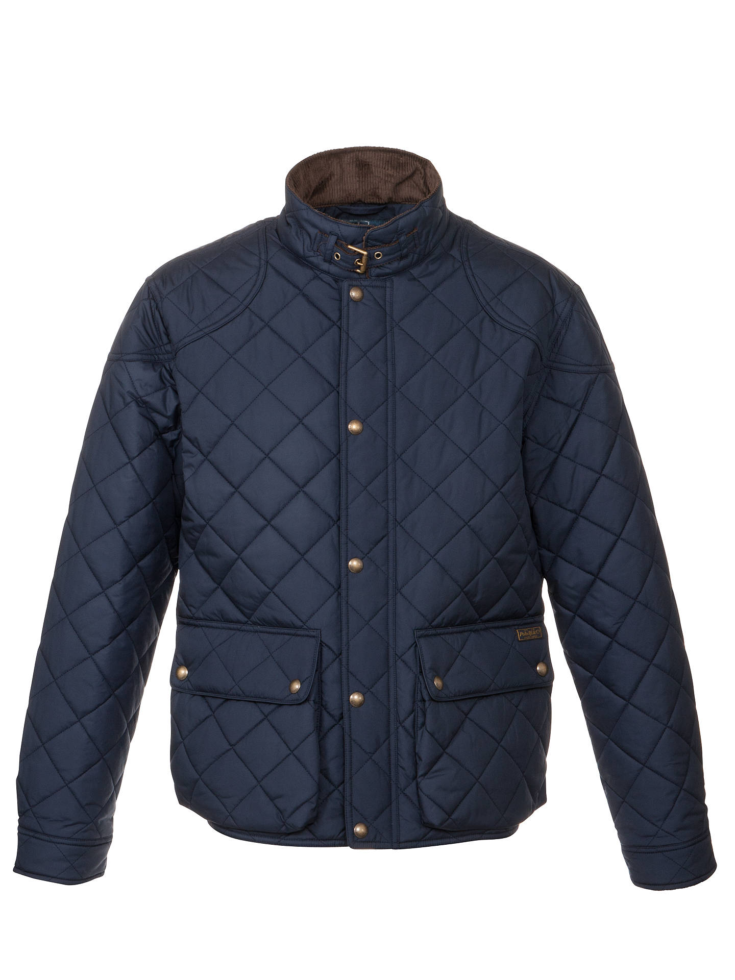 Polo Ralph Lauren Cadwell Quilted Bomber Jacket Navy At John Lewis