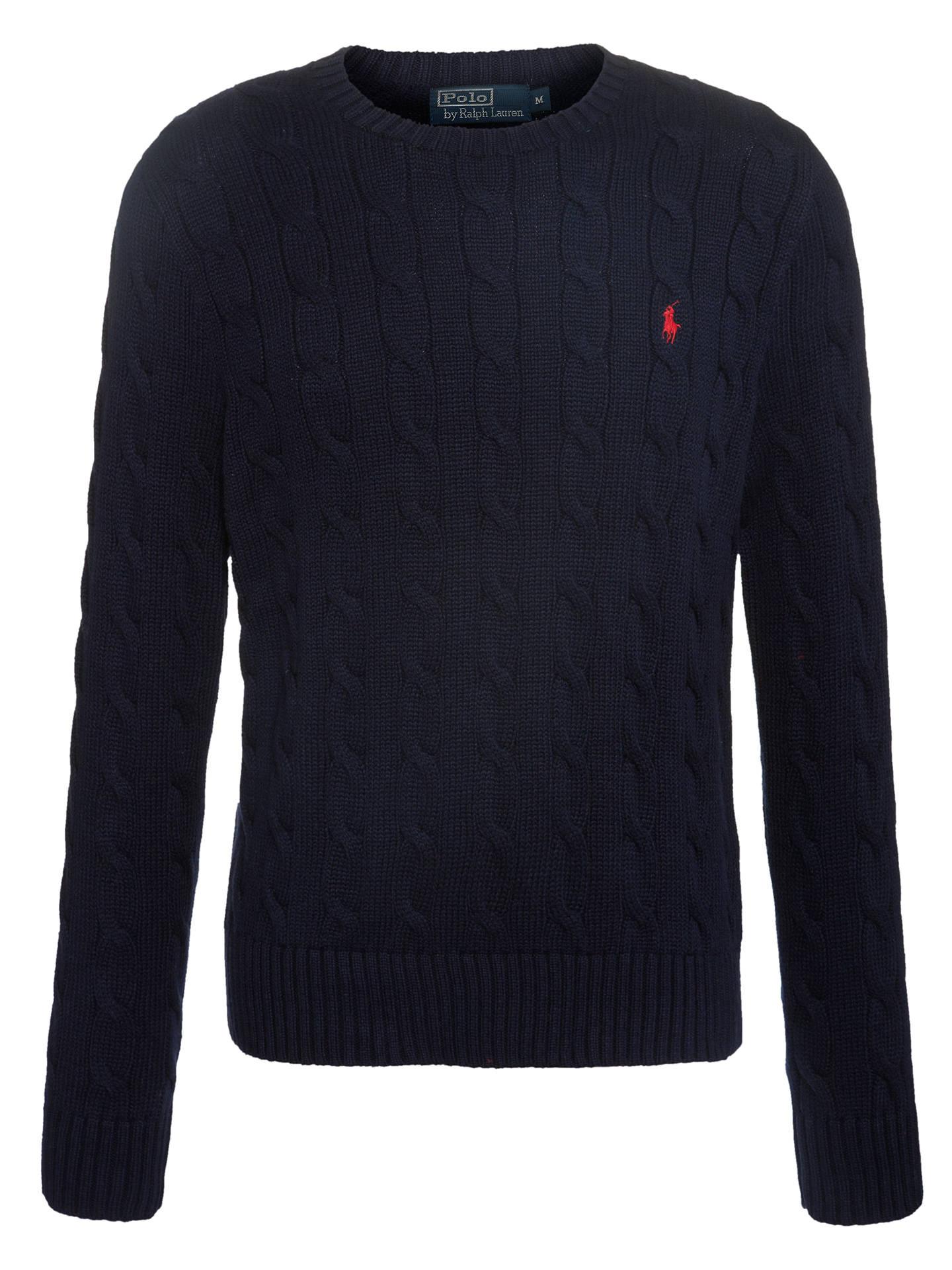 dcef4ffb19af0 Buy Polo Ralph Lauren Cotton Cable Knit Jumper