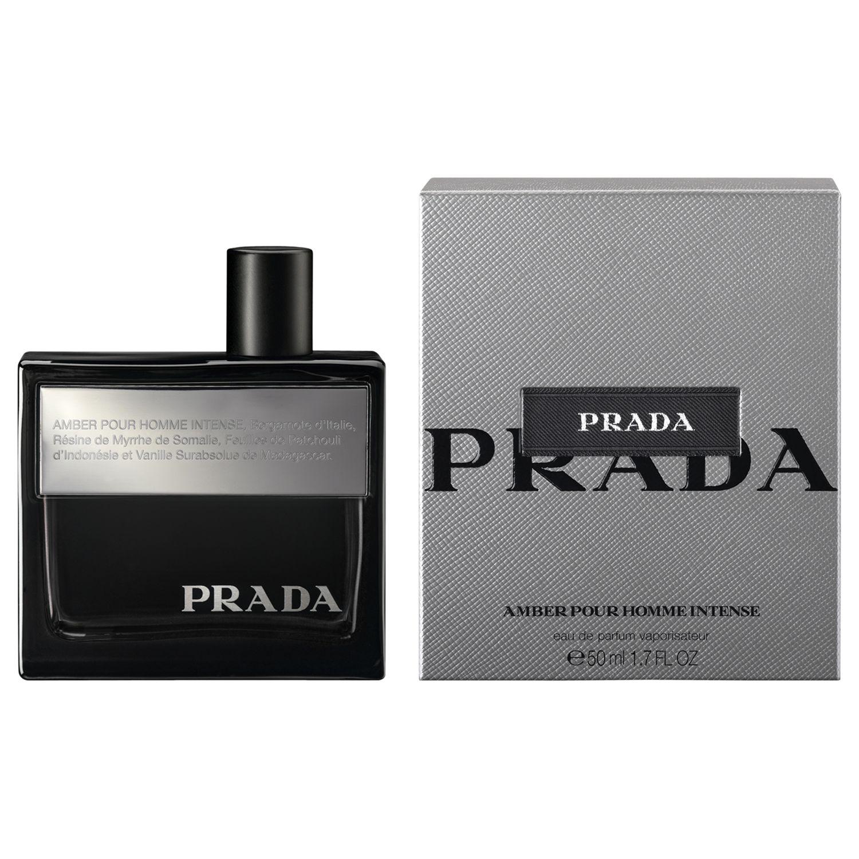 Eau De Prada Homme Pour Intense Amber Parfum 76byvIYfgm