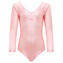 Buy Tappers and Pointers Long Sleeve Ruched Leotard Online at johnlewis.com