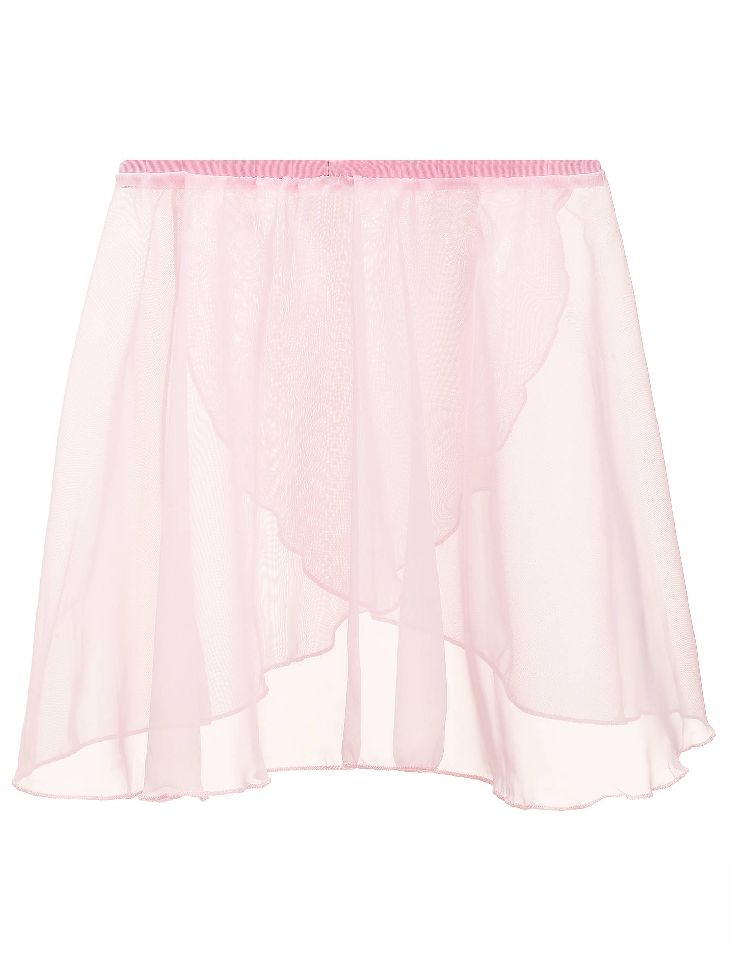 "BuyRoyal Academy Of Dance Cross Over Skirt, Pink, Waist 18"" Online at johnlewis.com"