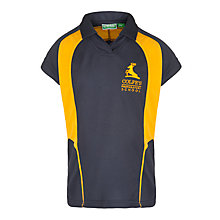 Buy Colfe's School Girls' Games Top, Navy Online at johnlewis.com