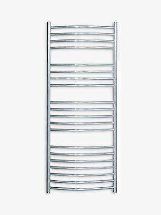 John Lewis & Partners Whitsand Adjustable Electric Heated Towel Rail
