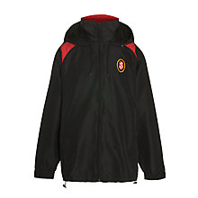 Buy St Joseph's College Unisex Sports Jacket, Black/Red Online at johnlewis.com