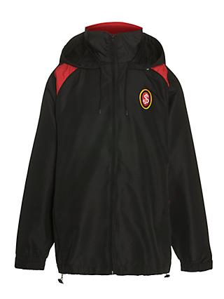 St Joseph's College Unisex Sports Jacket, Black/Red