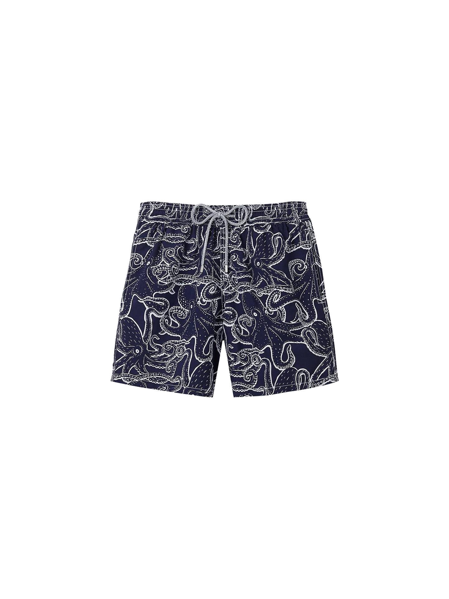 d4db59c1d Buy Vilebrequin Octopus Print Swim Shorts, Navy, M Online at johnlewis.com