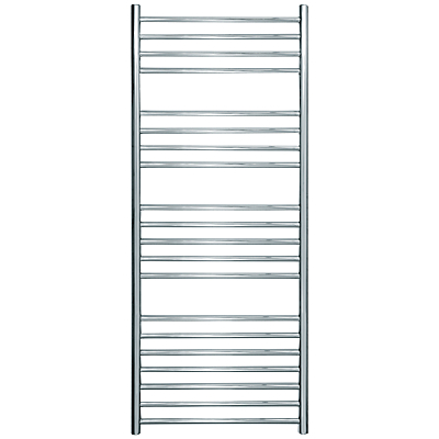 John Lewis & Partners Compton Central Heated Towel Rail and Valves, from the Floor