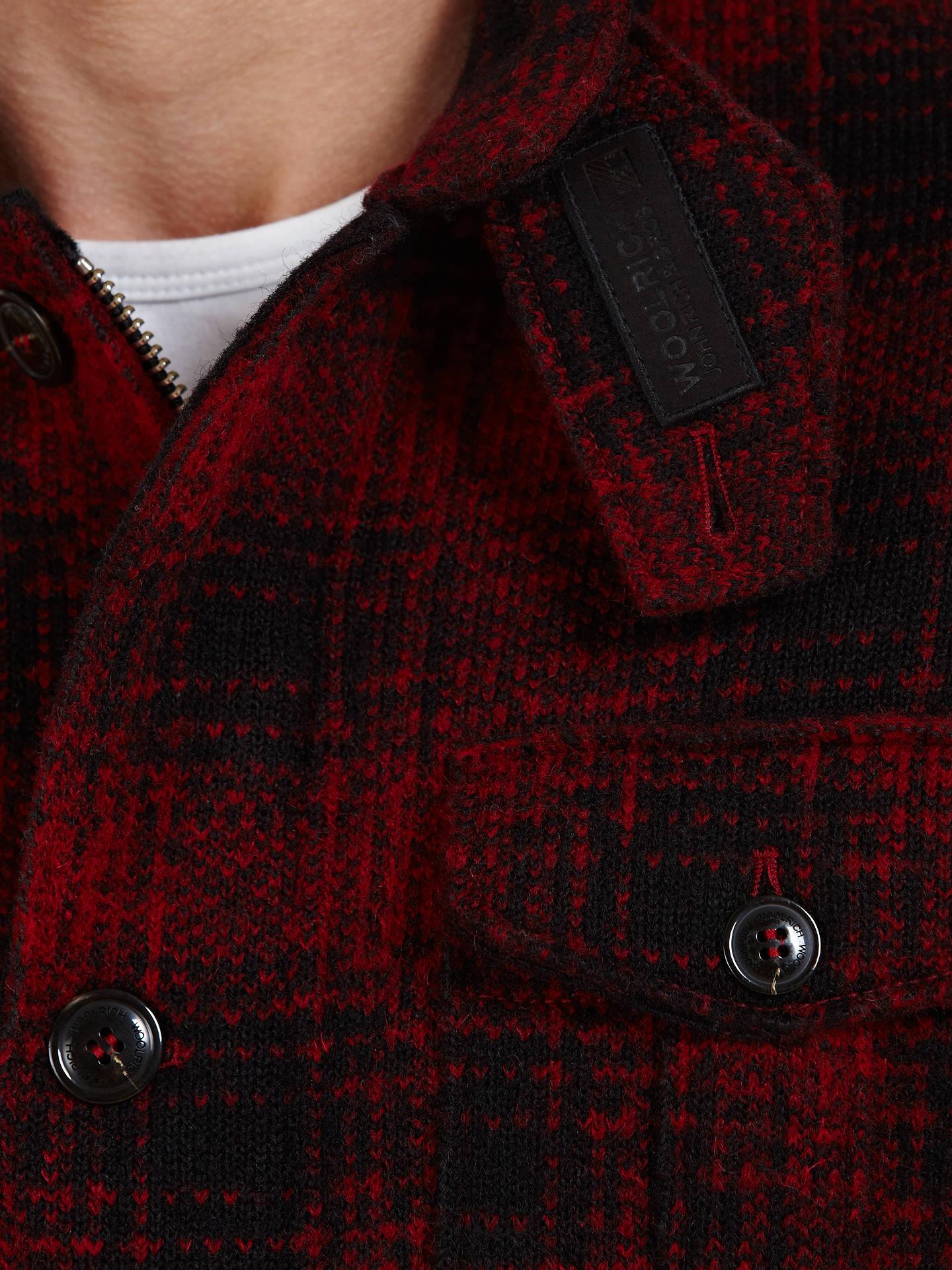 bfb78630de997 ... Buy Woolrich John Rich & Bros. Mackenzie Wool Hunting Jacket, Red/Black,