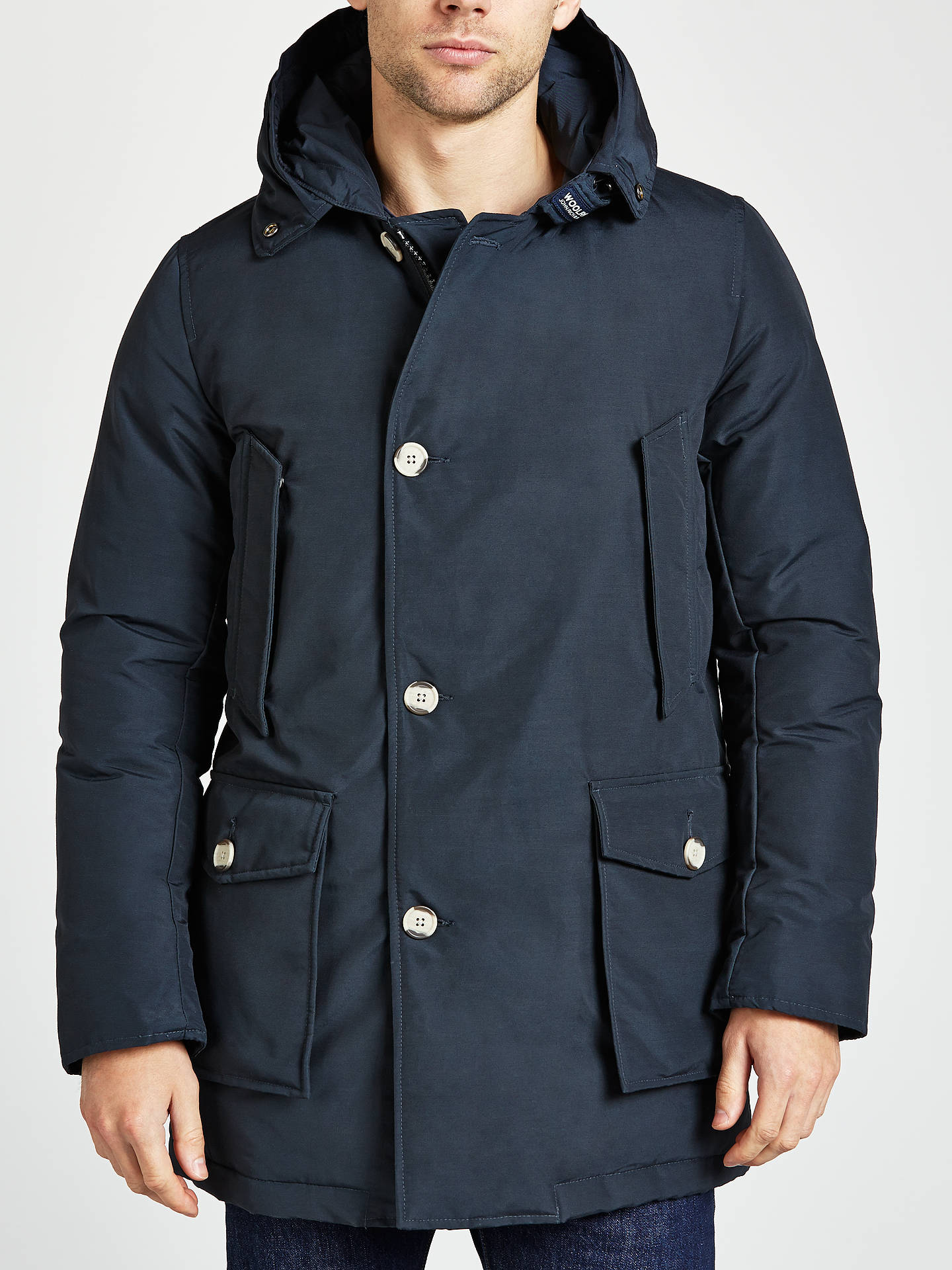 4fdf78d6e36f ... Buy Woolrich John Rich & Bros. Arctic Parka Jacket, Navy, XL Online at  ...