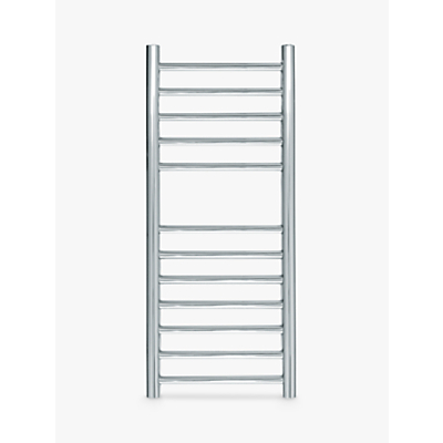 John Lewis & Partners St Ives Central Heated Towel Rail and Valves, from the Floor