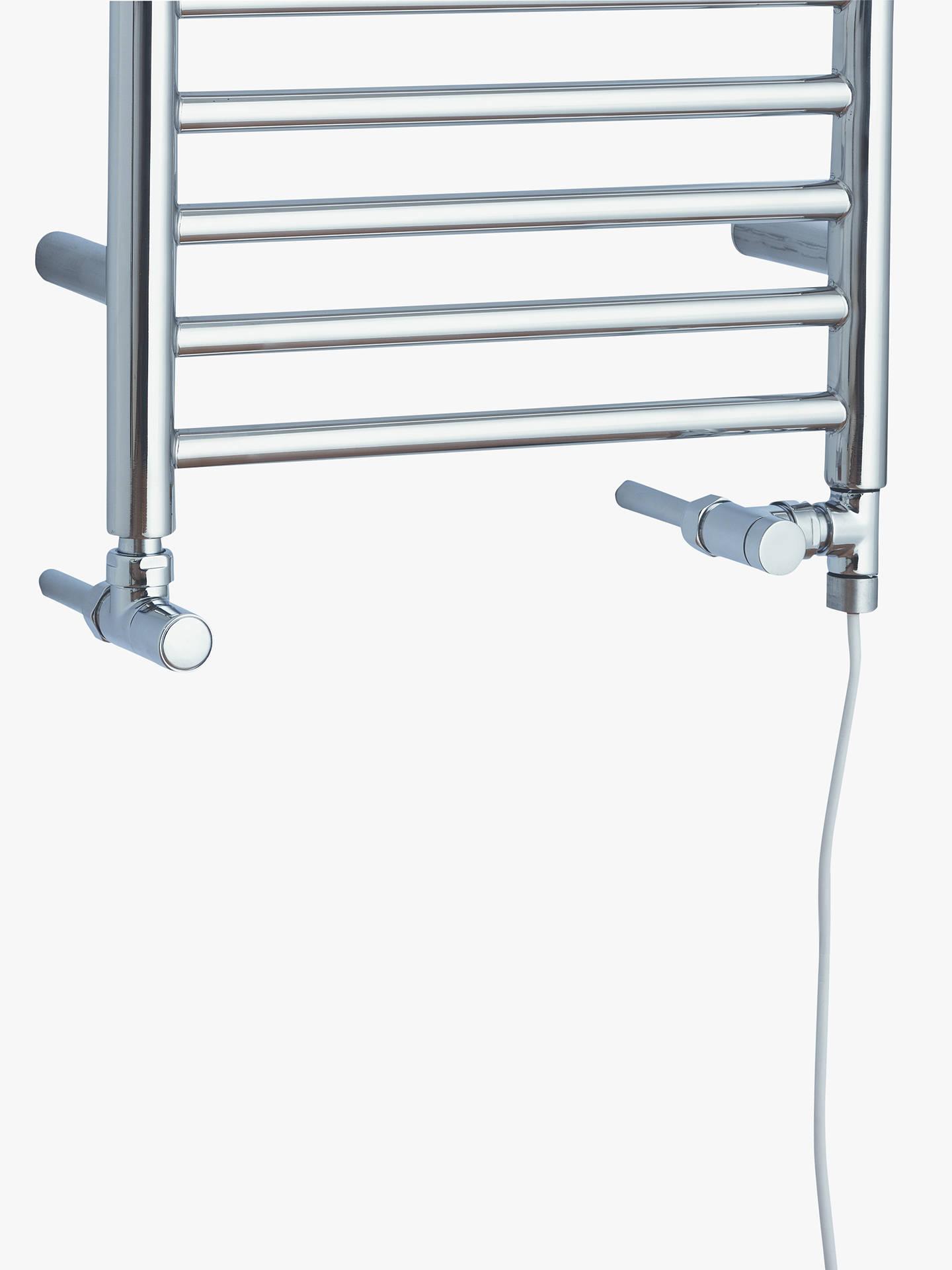 john lewis partners st ives dual fuel heated towel rail. Black Bedroom Furniture Sets. Home Design Ideas