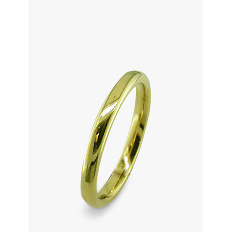 Buy EWA 18ct Yellow Gold 2.5mm Court Wedding Ring, Yellow Gold Online at johnlewis.com