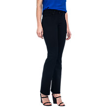 Buy NYDJ Billie Slim Bootcut Jeans, Black Overdye Online at johnlewis.com
