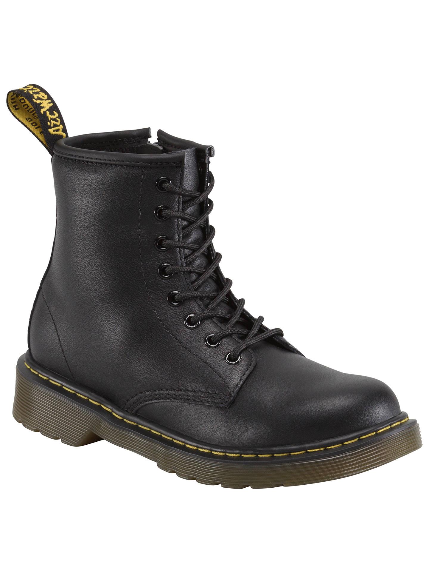 2df44ec7 Buy Dr Martens Children's Delaney Boots, Black, 10 Jnr Online at  johnlewis.com