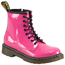 Buy Dr Martens Delaney Patent Boots Online at johnlewis.com