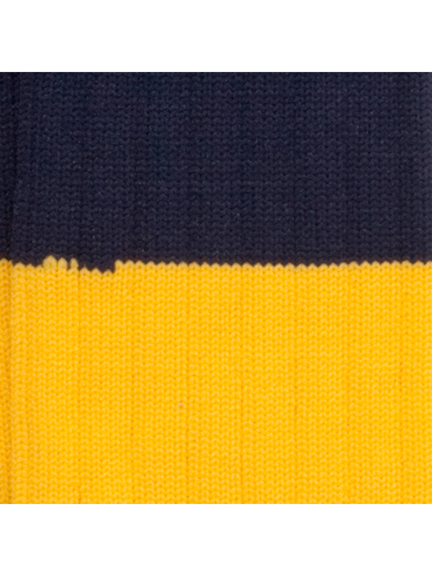 Buy Colfe's School Boys' Rugby Socks, Navy/Yellow, 12 Jnr-2 Online at johnlewis.com