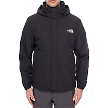 Buy The North Face Resolve Insulated Waterproof Men's Jacket, Black Online at johnlewis.com