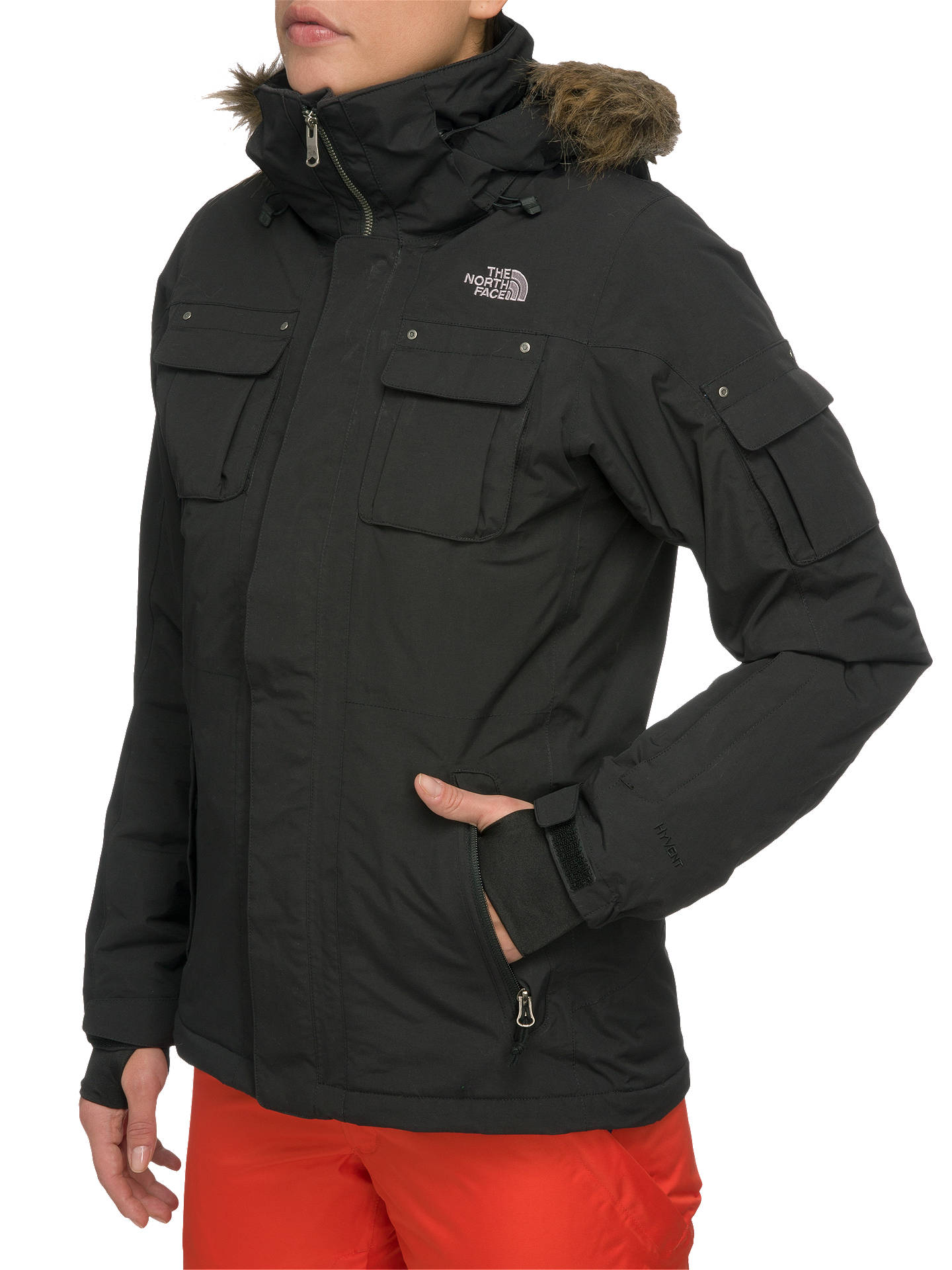 456e257b3 The North Face Baker Women's Jacket, Black at John Lewis & Partners