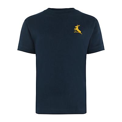 Colfe's School Unisex Sports T-Shirt, Navy Blue