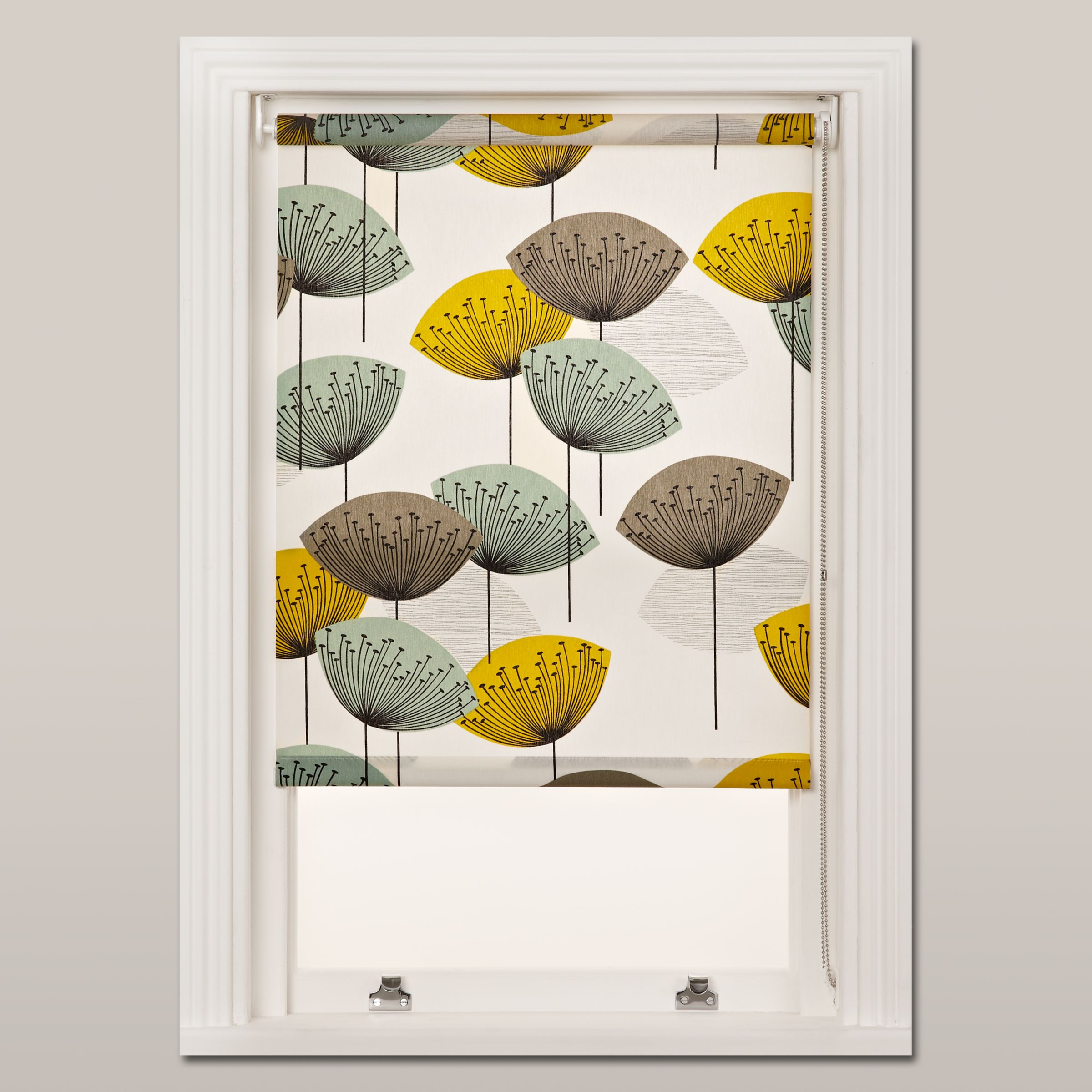 Cheap bathroom blinds uk - Buy Sanderson Dandelion Clocks Roller Blind Chaffinch Online At Johnlewis Com