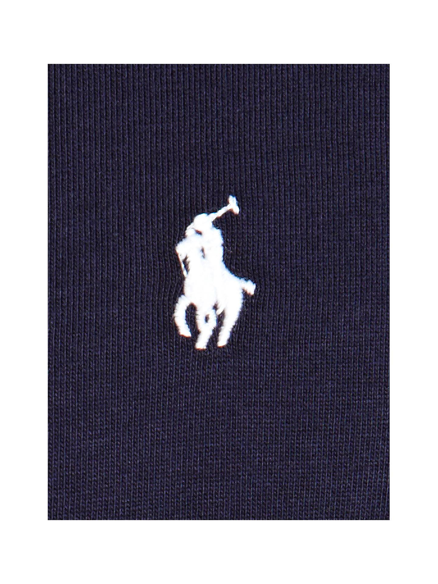 974f01a9de ... Buy Polo Ralph Lauren Crew Neck Lounge T-Shirt, Navy, M Online at
