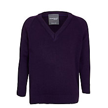 Buy Rudston Preparatory School Unisex Jumper, Purple Online at johnlewis.com