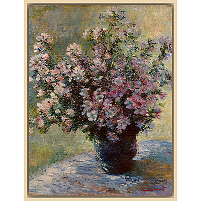 The Courtauld Gallery, Claude Monet – Vase of flowers 1881-2 Print