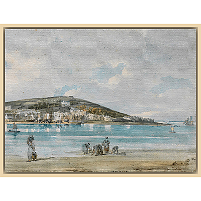 The Courtauld Gallery, Thomas Girtin – View of Appledore, North Devon, from Instow Sands 1798 Print