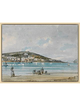 The Courtauld Gallery, Thomas Girtin - View of Appledore, North Devon, from Instow Sands 1798 Print