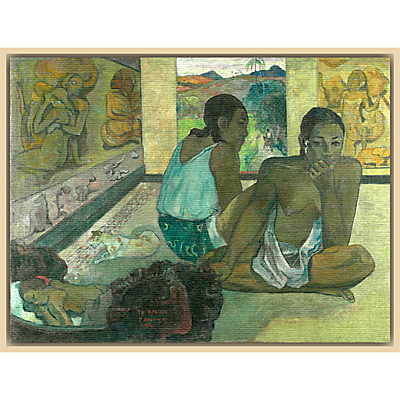 The Courtauld Gallery, Paul Gauguin – Te Rerioa 1897 Print