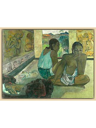 The Courtauld Gallery, Paul Gauguin - Te Rerioa 1897 Print
