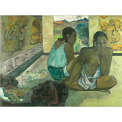 The Courtauld Gallery, Paul Gauguin – Te Rerioa 1897 Print