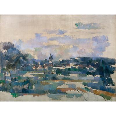 The Courtauld Gallery, Paul Cézanne – Route Tournante 1902-1906 Print