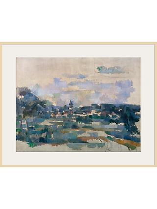 The Courtauld Gallery, Paul Cézanne - Route Tournante 1902-1906 Print